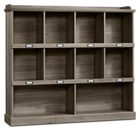 Barrister Lane Wide Bookcase – Salt Oak