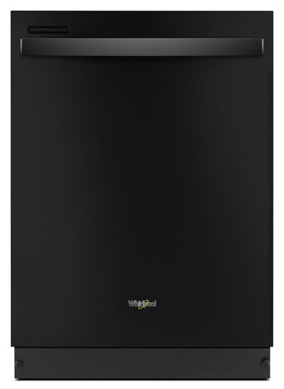 "Whirlpool 24"" Built-In Dishwasher with Sensor Cycle – WDT710PAHB - Dishwasher in Black"