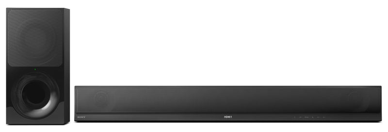 Sony HT-CT800 2.1 Channel Soundbar and Wireless Subwoofer – 350 W|Barre de son à 2.1 canaux et caisson d'extrêmes graves sans fil de Sony HT-CT800 - 350 W|HTCT800S