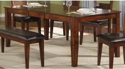 Dakota Light Dining Table - Contemporary style Dining Table in Light Cherry