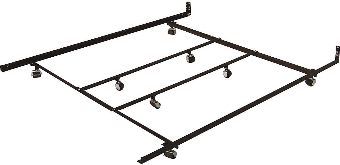 Queen King Low Profile Rugroller Bed Frame The Brick