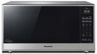 Panasonic® 1.6 Cu. Ft. Countertop Microwave - Stainless Steel - Countertop Microwave in Stainless Steel