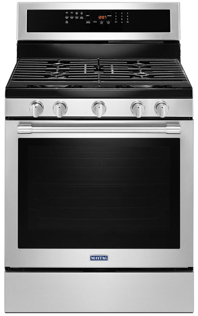 Maytag 5.8 Cu. Ft. Freestanding Gas Range – MGR8800FZ - Gas Range in Stainless Steel