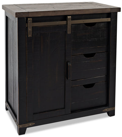 Madison Accent Cabinet - Black|Armoire décorative Madison - noire|MADBLACC