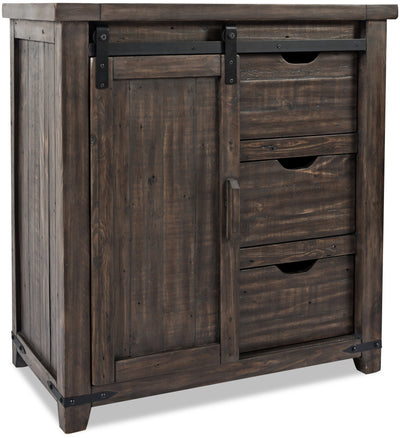 Madison Accent Cabinet - Brown|Armoire décorative Madison - brune|MADBRACC