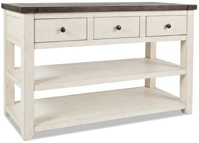 Madison Sofa Table - White