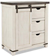Madison Accent Cabinet - White