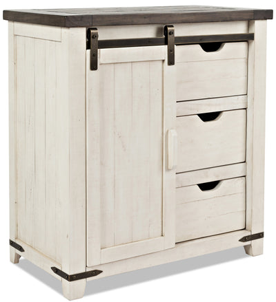 Madison Accent Cabinet - White|Armoire décorative Madison - blanche|MADWHACC