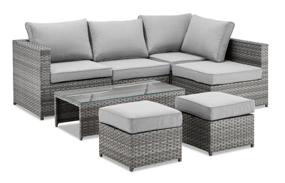 Mayan 7-Piece Patio Conversation Set|Ensemble de conversation Mayan 7 pièces pour la terrasse|MAYA7SET