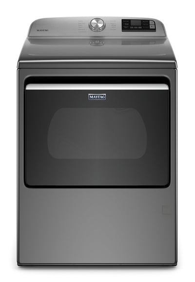 Maytag 7.4 Cu. Ft. Smart Front-Load Gas Dryer - MGD6230HC - Dryer in Metallic Slate