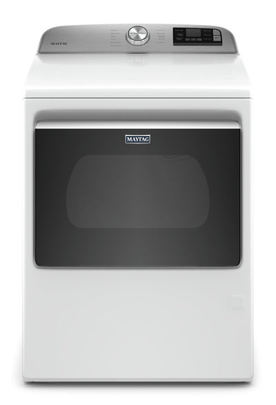 Maytag 7.4 Cu. Ft. Smart Front-Load Gas Dryer - MGD6230HW|Sécheuse à gaz intelligente Maytag de 7,4 pi3 à chargement frontal - MGD6230HW|MGD6230W