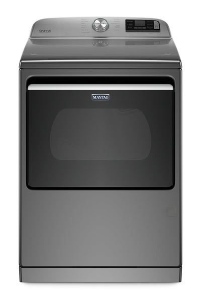 Maytag 7.4 Cu. Ft. Smart Front-Load High-Efficiency Gas Dryer - MGD7230HC - Dryer in Metallic Slate