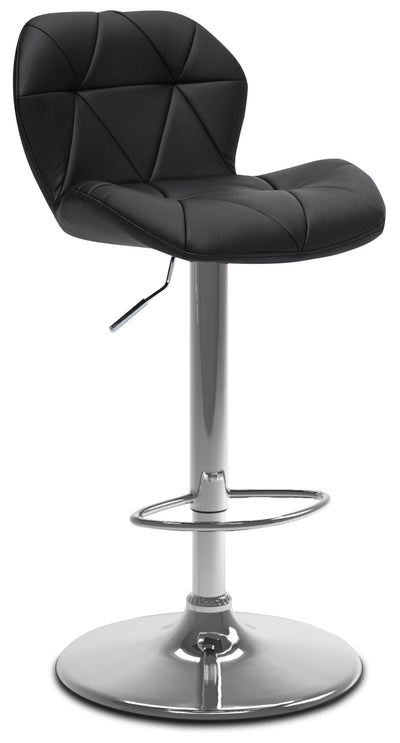 Emry Adjustable Bar Stool – Black|Tabouret bar réglable Emry - noir|EMRYBKBS