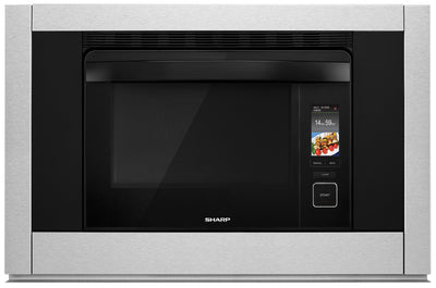 SHARP Supersteam+™ & Convection Built-In Wall Oven - SSC3088AS - Electric Wall Oven with Child Lock, Steam in Stainless Steel