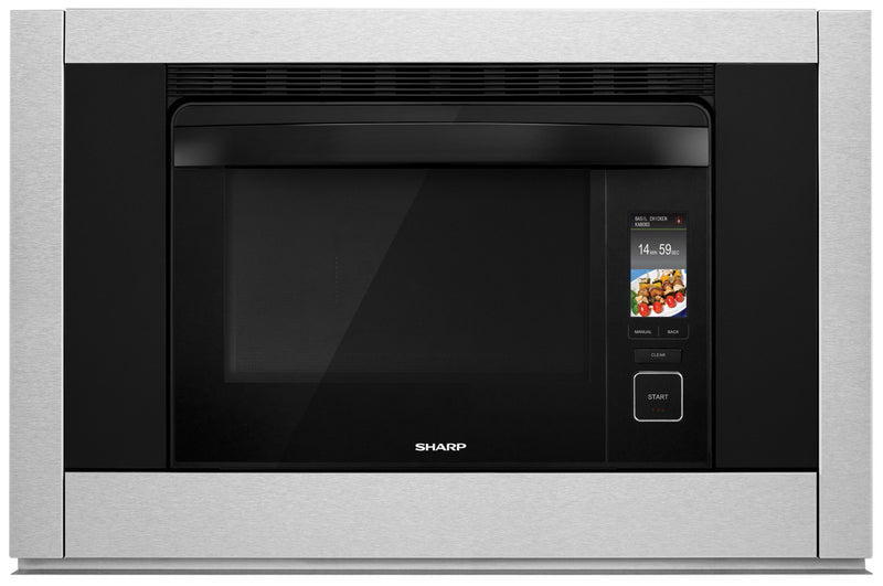 SHARP Supersteam+™ & Convection Built-In Wall Oven - SSC3088AS|FOUR À VAPEUR ET À CONVECTION SHARP SUPERSTEAM+™