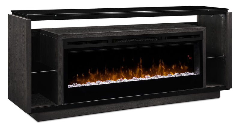Outstanding Electric Fireplace Inserts Tv Stands The Brick Download Free Architecture Designs Scobabritishbridgeorg