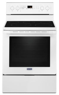 Maytag 6.4 Cu. Ft. Freestanding Electric Convection Range – YMER8800FW