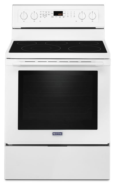 Maytag 6.4 Cu. Ft. Freestanding Electric Convection Range – YMER8800FW - Electric Range in White