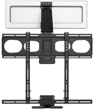 Evolution Home Entertainment Wall Mount - MantelMount MM540 Enhanced Pull-Down TV Wall Mount with Soundbar Attachment