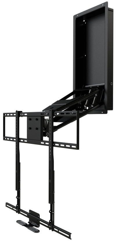 Evolution Home Entertainment Wall Mount - MantelMount MM750 Pro Pull-Down TV Wall Mount with Soundbar Attachment