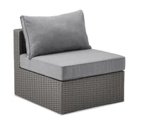 Morris Armless Patio Chair with Storage