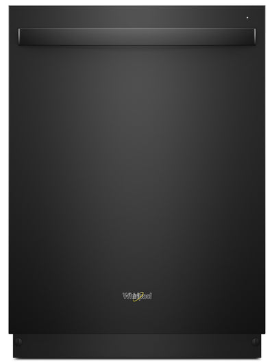 Whirlpool® Stainless Steel Tub Dishwasher with Third Level Rack – WDT970SAHB - Dishwasher in Black