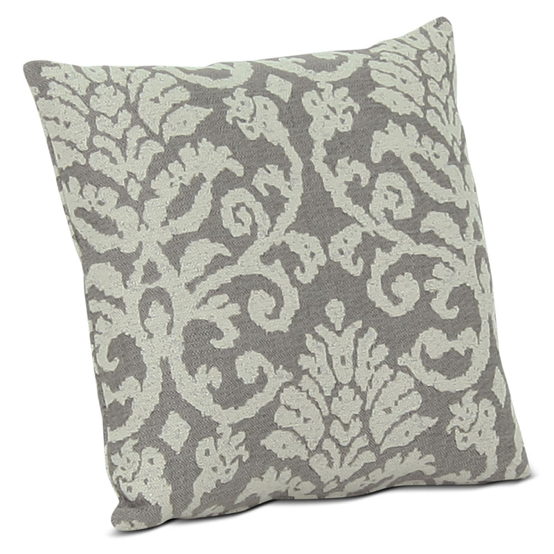 Designed2B Fabric Accent Throw Pillow – Linen|Coussin décoratif en tissu de la collection Design à mon image - lin