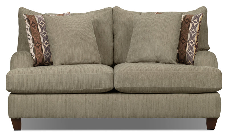 Putty Chenille Loveseat - Beige|Causeuse Putty en chenille - beige|PUTTY-L
