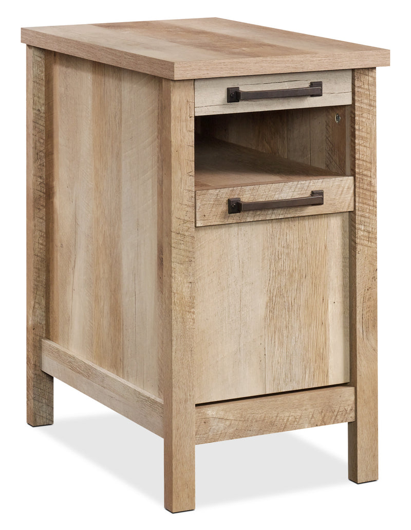 Cannery Bridge End Table – Lintel Oak|Table d'appoint Cannery Bridge