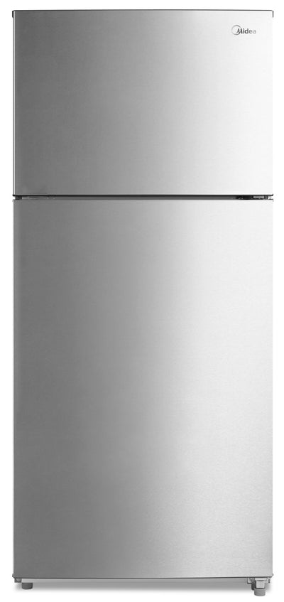 Midea 18 Cu. Ft. Top-Freezer Refrigerator - MT18DDSCR1RCM - Refrigerator in Stainless Steel