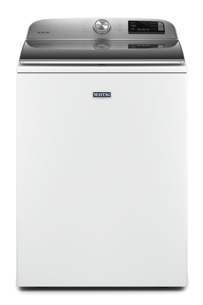 Maytag 5.4 Cu. Ft. Smart Top-Load Washer - MVW6230HW|Laveuse intelligente Maytag de 5,4 pi3 à chargement par le haut - MVW6230HW|MVW6230W
