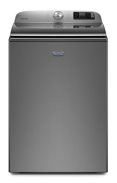 Maytag 6.0 Cu. Ft. Smart Top-Load Washer with Built-In Faucet - MVW7230HC - Washer in Metallic Slate
