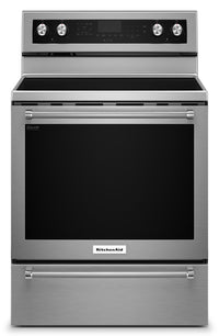 KitchenAid 6.4 Cu. Ft. Freestanding Electric Range – YKFEG510ESS