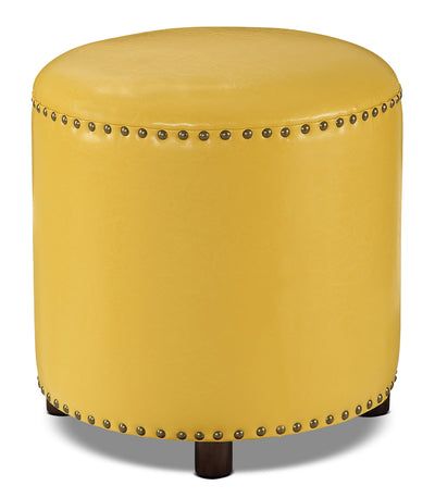 Chilton Ottoman – Mustard Yellow|Pouf Chilton – jaune moutard|CHIYWOTT