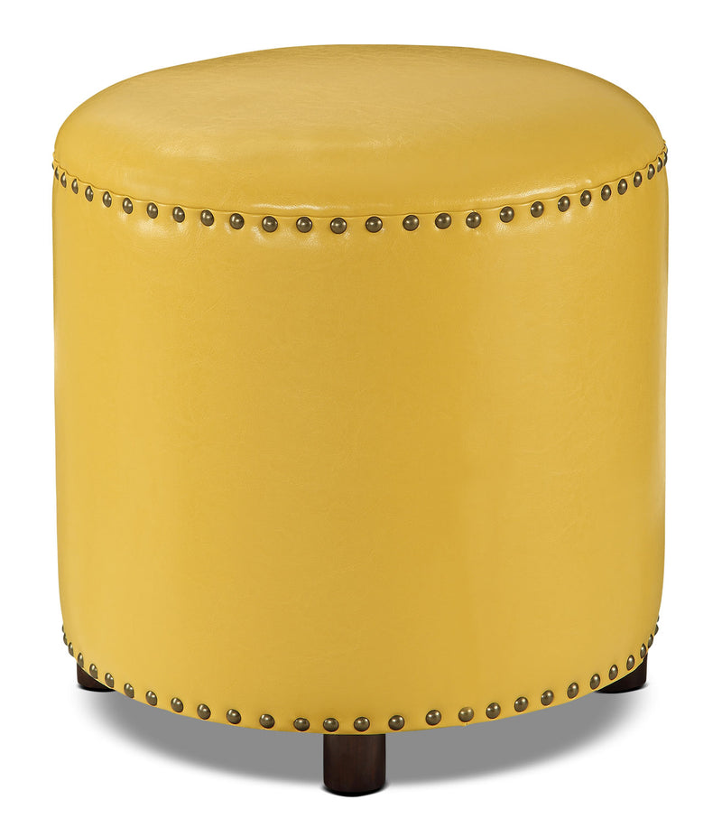 Chilton Ottoman – Mustard Yellow|Pouf Chilton – jaune moutard