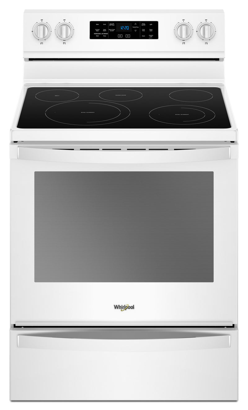 Whirlpool® 6.4 Cu. Ft. Freestanding Electric Range with Frozen Bake™ Technology|Cuisinière électrique non encastrée Whirlpool®, technologie Frozen Bake™, 6,4 pi3