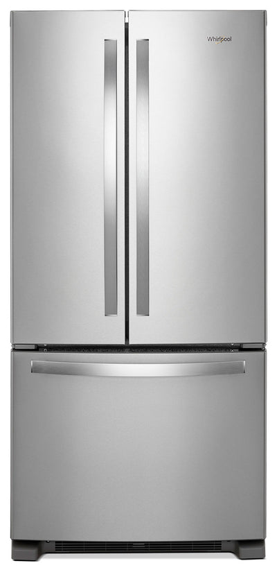 Whirlpool® 22 Cu. Ft. French-Door Refrigerator – WRF532SNHZ - Refrigerator in Stainless Steel