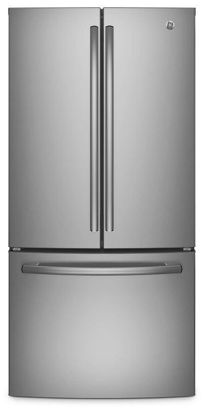 GE 24.8 Cu. Ft. French-Door Refrigerator – GNE25DSKSS - Refrigerator in Stainless Steel