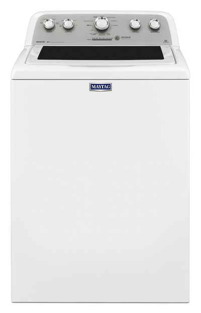 Maytag Bravos® 5.0 Cu. Ft. Top-Load Washer - White - Washer in White