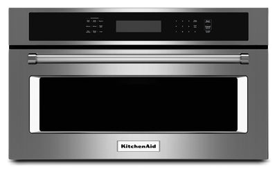 "KitchenAid 1.4 Cu. Ft. 30"" Built-In Convection Microwave Oven - Stainless Steel - Built-In Microwave in Stainless Steel"