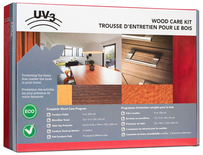 UV3 Wood Furniture Care Kit