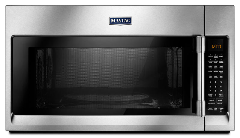 Maytag 1.9 Cu. Ft. Over-the-Range Microwave with Convection – YMMV6190FZ|Four à micro-ondes à hotte intégrée Maytag de 1,9 pi³ avec cuisson par convection - YMMV6190FZ