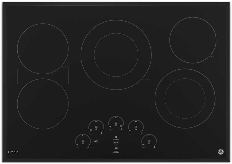 "GE Profile 30"" Electric Cooktop – PP9030DJBB