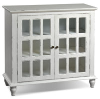 Bray Accent Cabinet - Antique Ivory