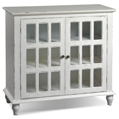 Bray Accent Cabinet - Antique Ivory|Armoire décorative Bray - ivoire antique|BRAWTACC