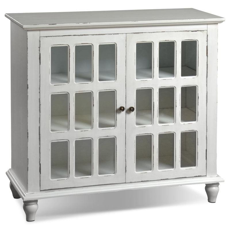 Bray Accent Cabinet - Antique Ivory|Armoire décorative Bray - ivoire antique