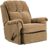 Brown Chenille Rocker Recliner