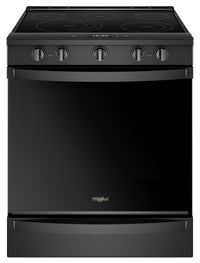 Whirlpool 6.4 Cu. Ft. Smart Slide-in Electric Range with Frozen Bake™ Technology - YWEE750H0HB