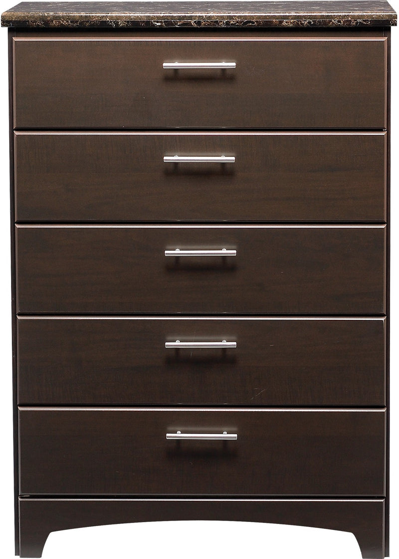 Oxford 5-Drawer Chest|Commode verticale à 5 tiroirs Oxford