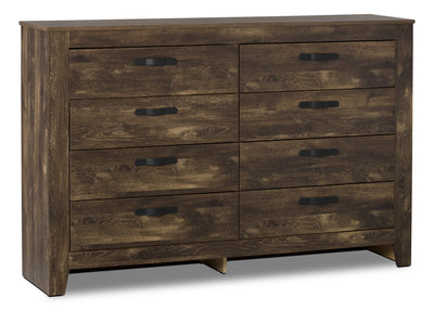 Remie Dresser - Rustic style Dresser in Oak Engineered Wood and Laminate Veneers
